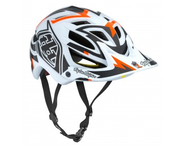 Troy Lee Designs A1 MIPS MTB helmet VERTIGO white