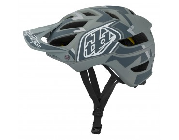 Troy Lee Designs A1 MIPS MTB-Helm VERTIGO gray