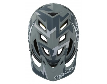 Troy Lee Designs A1 MIPS - casco MTB VERTIGO gray