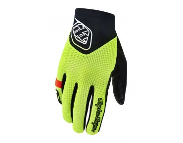 Troy Lee Designs ACE gloves flo yellow
