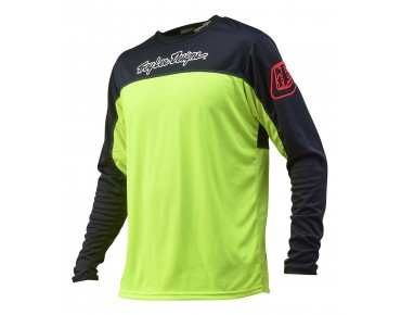 Troy Lee Designs SPRINT long-sleeved bike shirt flo yellow