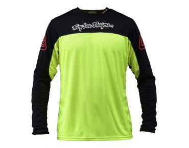 Troy Lee Designs SPRINT Bikeshirt langarm flo yellow