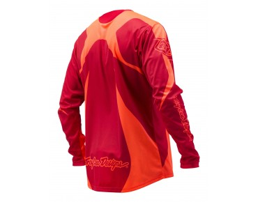 Troy Lee Designs SPRINT Bikeshirt langarm rocket red