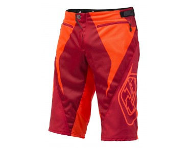 Troy Lee Designs SPRINT bike shorts rocket red