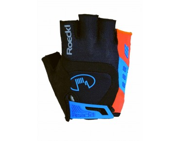 ROECKL IDEGAWA gloves black/fiesta red