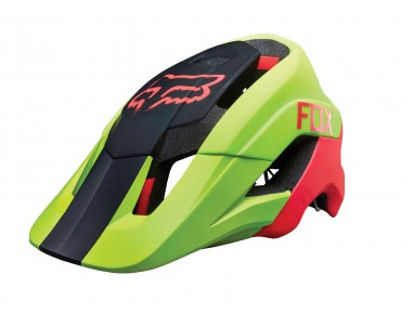 FOX METAH helmet flo yellow