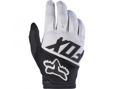 FOX DIRTPAW RACE Handschuhe white
