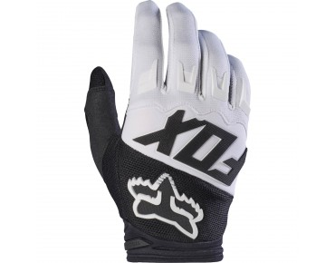 FOX DIRTPAW RACE gloves black/white