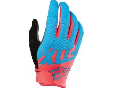 FOX RANGER gloves cyan