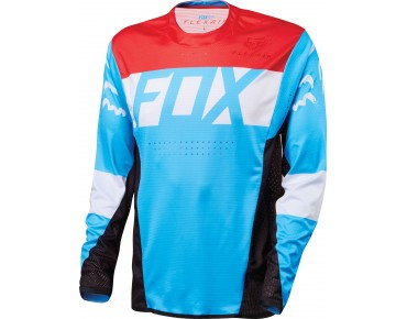 FOX FLEXAIR DH long-sleeved shirt cyan