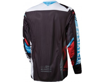 FOX DEMO long-sleeved cycling shirt red