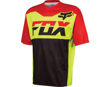 FOX COVERT MAKO Bikeshirt flo yellow