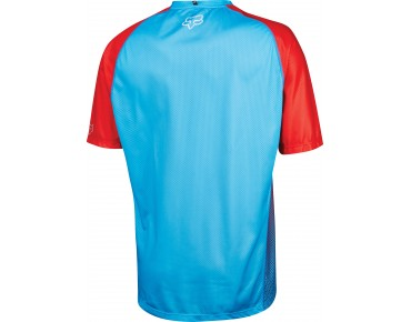 FOX FLOW cycling shirt cyan