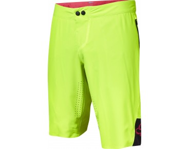 FOX ATTACK bikeshort incl. binnenbroek flo yellow
