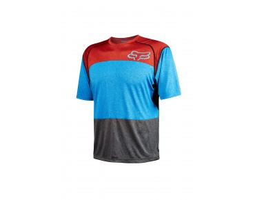 FOX INDICATOR cycling shirt heather blue