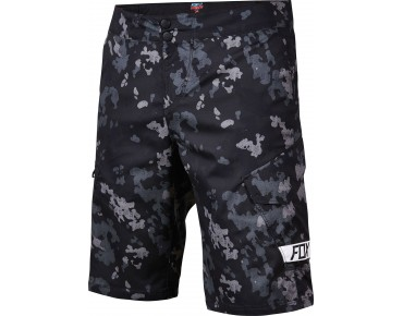 FOX RANGER CARGO cycling shorts incl. inner pants black camo