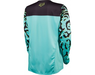FOX DEMO DH long-sleeved cycling shirt for women miami green
