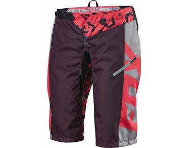 FOX DEMO DH RACE Damen Bikeshorts neon red