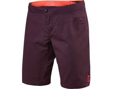 FOX RIPLEY women's cycling shorts incl. inner pants plum