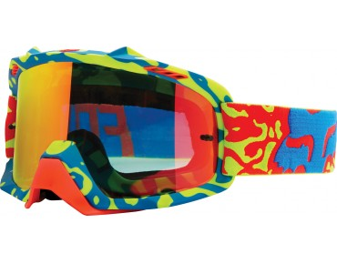 FOX AIR SPACE CHROME goggles CAUZ yellow/red