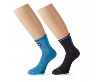 ASSOS Mille_evoS7 twin pack of socks blue