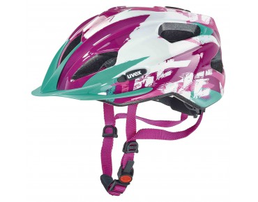 uvex quatro junior kids' helmet white/pink