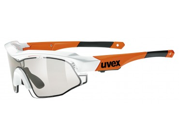 uvex VARIOTRONIC S Brille white-orange/variotronic