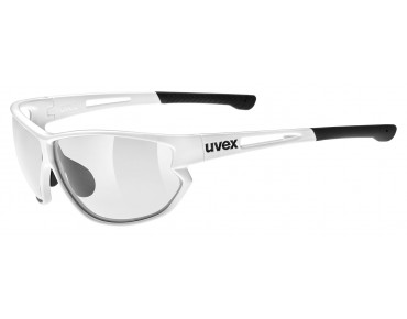 uvex SPORTSTYLE 810 V glasses white/variomatic smoke