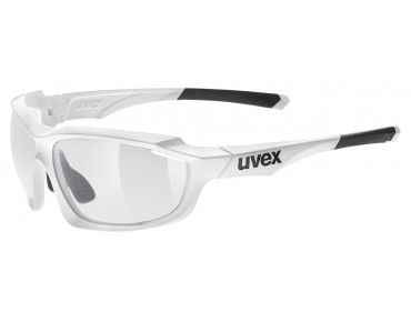 uvex SPORTSTYLE 710 V glasses white/variomatic smoke