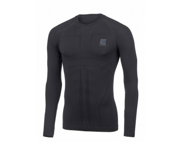 SEAMLESS WARM Langarmunterhemd black