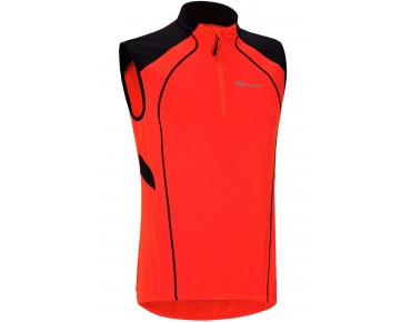 GONSO DOMIAN mouwloze jersey fiery red