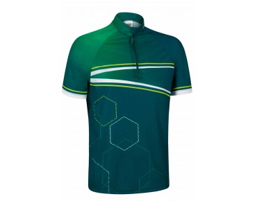 GONSO OAK bikeshirt teal green