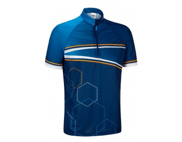 GONSO OAK cycling shirt estate blue