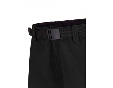 GONSO PORTLAND zip-off trousers incl. inner shorts black