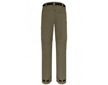 GONSO PORTLAND zip-off trousers incl. inner shorts burnt olive