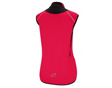 GONSO EMERALD windproof vest for women barberry