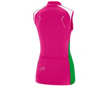 GONSO BIRCH sleeves jersey for women raspberry rose