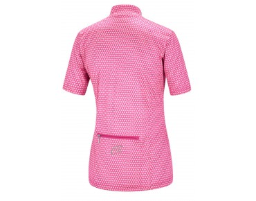 GONSO ISLAND women's cycling shirt raspberry rose