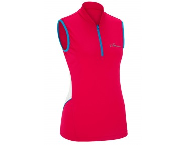 GONSO JESSI sleeveless cycling shirt for women barberry