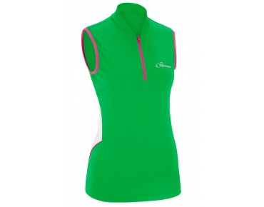 GONSO JESSI sleeveless cycling shirt for women poison green