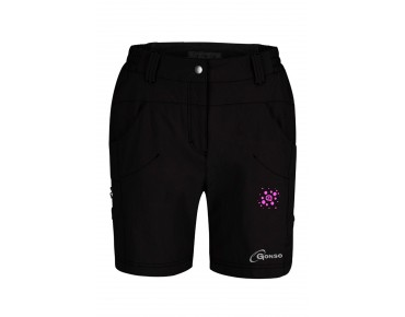 GONSO MIRA women's cycling shorts incl. inner shorts black