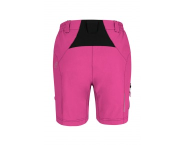 GONSO MIRA women's cycling shorts incl. inner shorts raspberry rose