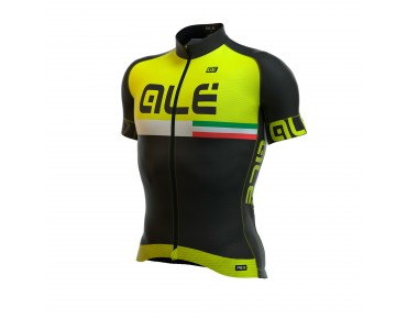 ALÉ GRAPHICS PRR CIRCUITO 2016 Trikot black/fluo yellow