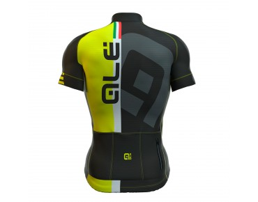 ALÉ GRAPHICS PRR CIRCUITO 2016 jersey black/fluo yellow