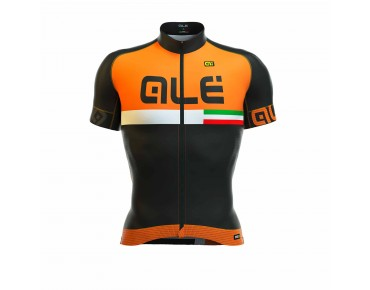 ALÉ GRAPHICS PRR CIRCUITO 2016 Trikot black/fluo orange