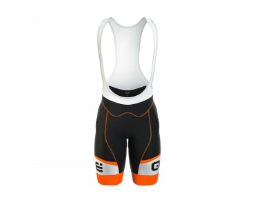 ALÉ GRAPHICS FORMULA 1.0 LOGO 2017 bib shorts black/fluo orange
