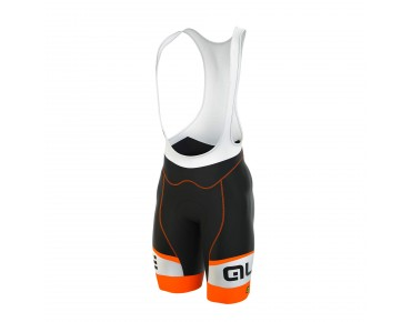 ALÉ GRAPHICS FORMULA 1.0 LOGO 2016 bib shorts black/fluo orange
