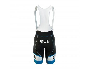 ALÉ GRAPHICS FORMULA 1.0 LOGO 2017 bib shorts black/sky blue