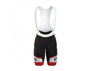 ALÉ GRAPHICS FORMULA 1.0 LOGO 2016 bib shorts black/red
