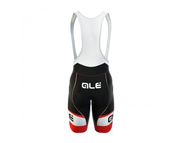 ALÉ GRAPHICS FORMULA 1.0 LOGO 2017 bib shorts black/red